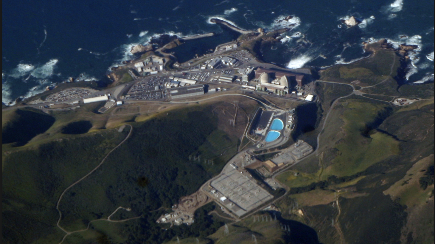 Diablo Canyon nuclear power station currently provides about 9% of California's energy needs.