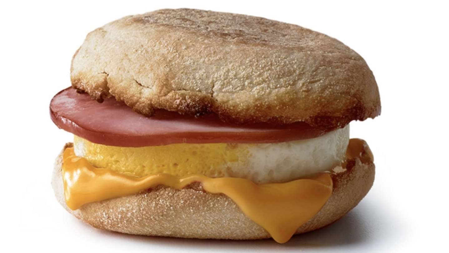 The Egg McMuffin was first served in a Santa Barbara McDonald's before making its way around the world.