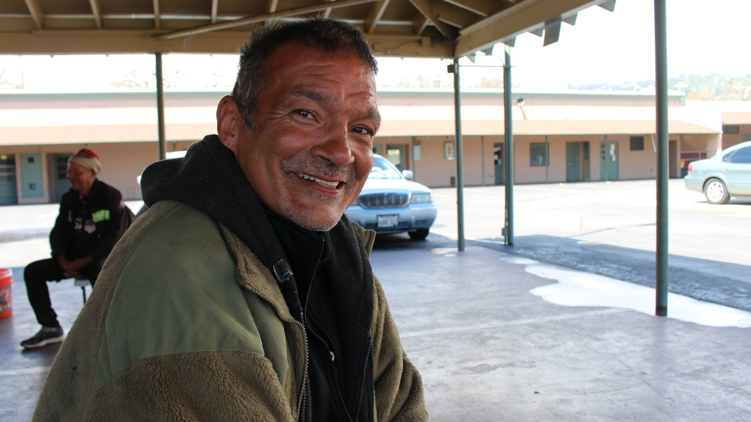 "Luis Martinez lives on the streets in Santa Barbara. ""An apartment complex is going to cost more than $2 million,"" he said, but he hopes the state funding will help provide homeless people with more services."
