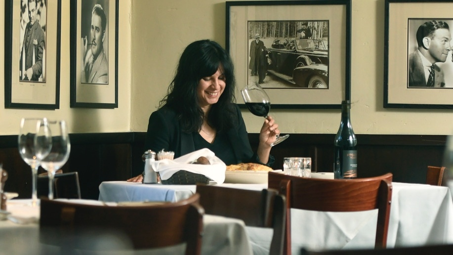 Ninette Paloma dines out alone at Lucky's Steakhouse