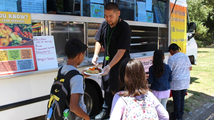 Kids' free summer food programs are seeing low attendance following fears of increased ICE raids.