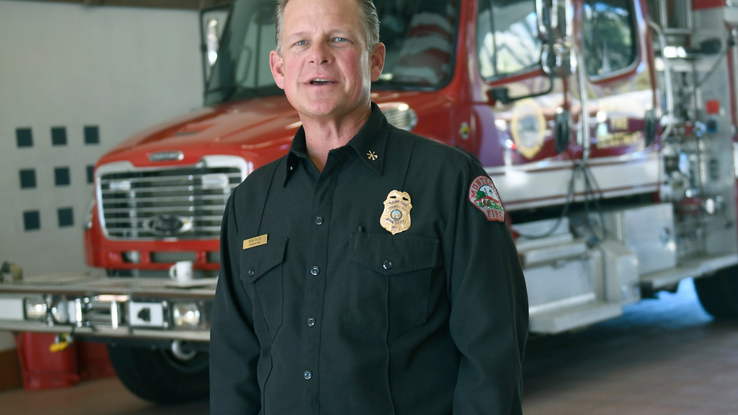 Kevin Taylor at the Montecito Fire Protection District