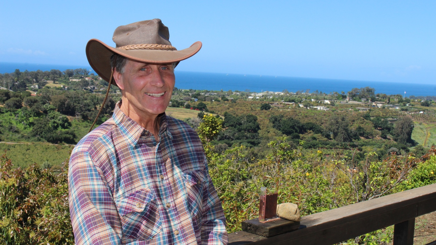 Scott van der Kar is a long-time avocado farmer in Carpenteria.