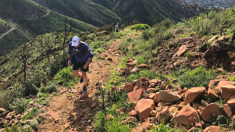 This weekend, ultramarathons are descending on Santa Barbara's frontcountry for the annual    Nine Trails Race   , a 35-mile trail run in the Los Padres National Forest.