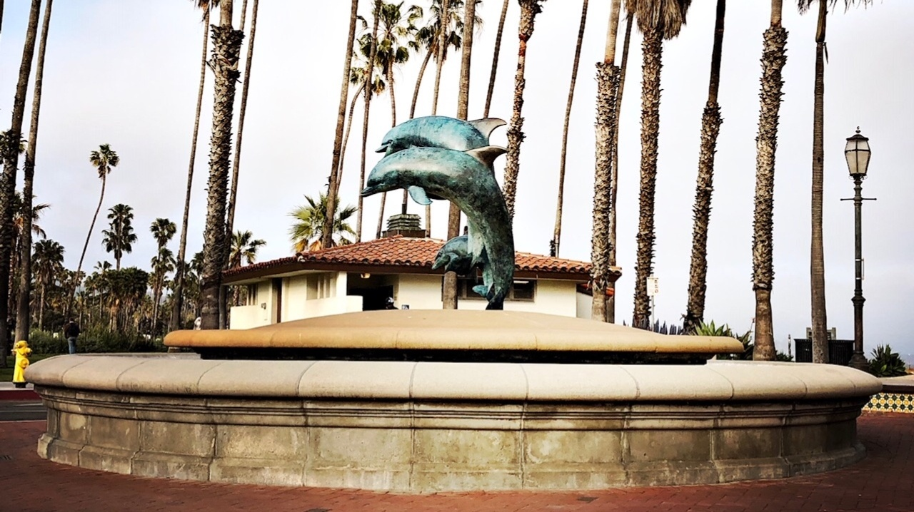 The City of Santa Barbara will refill the dolphin fountain at Stearns Wharf as part of the water restrictions lift.