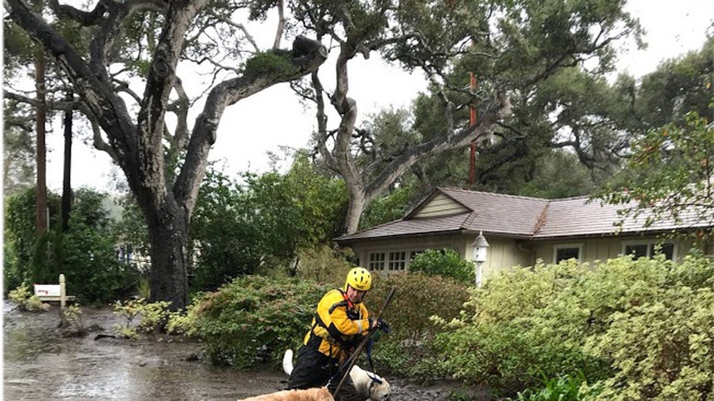 A tragic mudslide in the coastal Santa Barbara community of Montecito has left over a dozen people dead and missing. The destruction is only beginning to be measured.