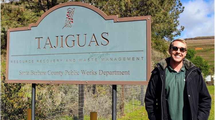 Located north of Santa Barbara, just past Refugio State Beach is the Tajiguas Landfill, a 100-acre mound of trash.