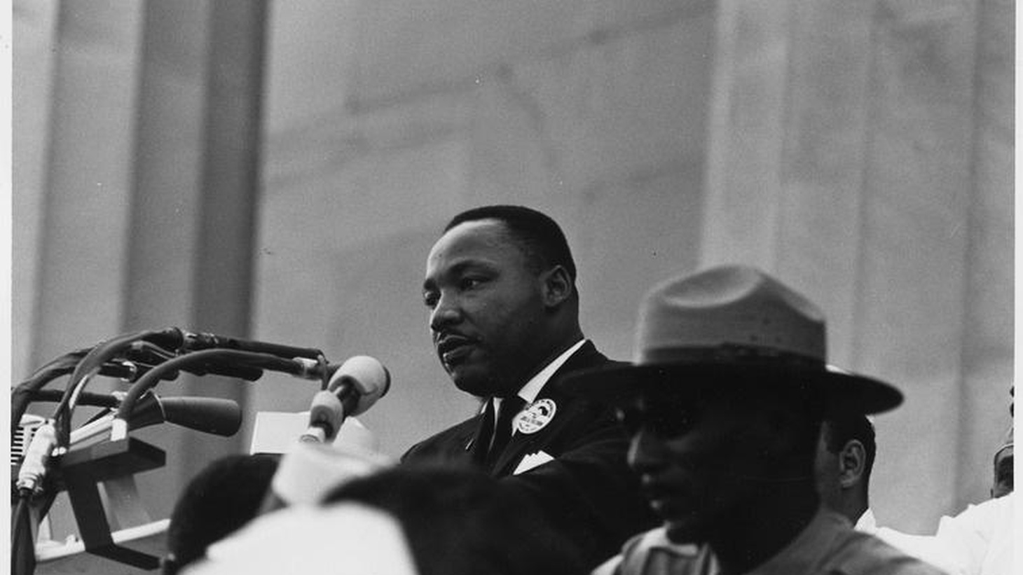 """We talk with people who attended the March on Washington. Why did integrated non-violence surprise the US? Has Dr. King's """"Dream"""" been achieved? What's been forgotten?"""