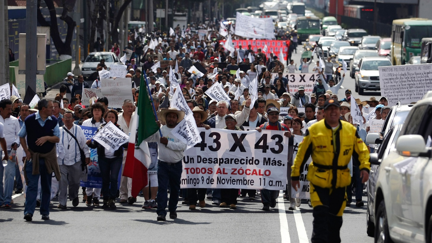 The historic deal between the US and China promises to set the most ambitious carbon reduction standards ever from the world's top two greenhouse gas producers. Also, the case of 43 missing students in Mexico has made headlines around the world. What would it take to break the hold of drugs and political corruption in Mexico?