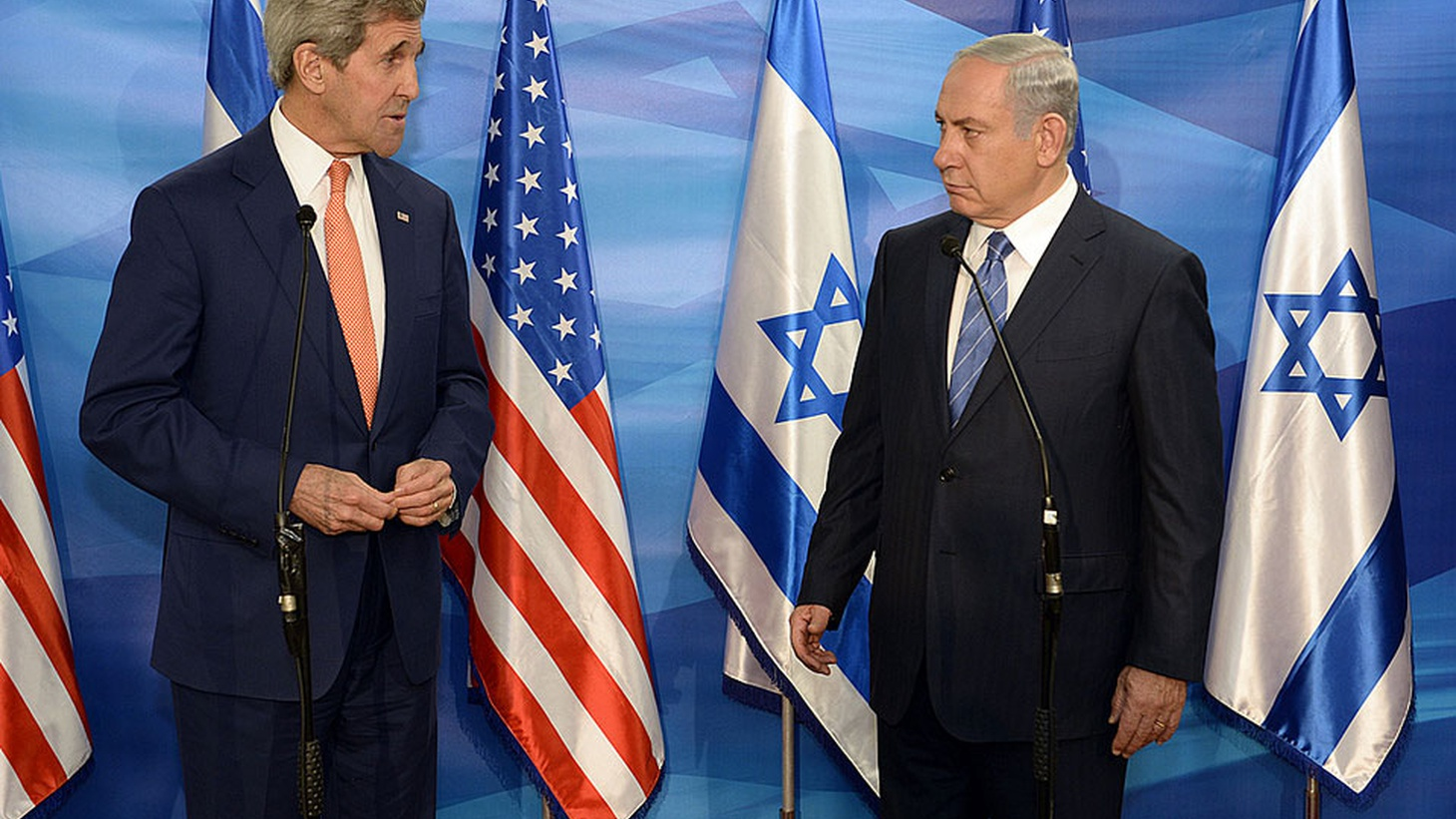 Israel is railing at the Obama administration for not vetoing a UN vote last week condemning settlements in the West Bank. In retaliation, it's pulling envoys and advancing plans for new settlements in East Jerusalem, where Palestinians envision a future capital. Guest host Barbara Bogaev talks about the Kerry plan, gets reaction from Jerusalem, and considers where US-Middle East policy is headed under the Trump Administration.