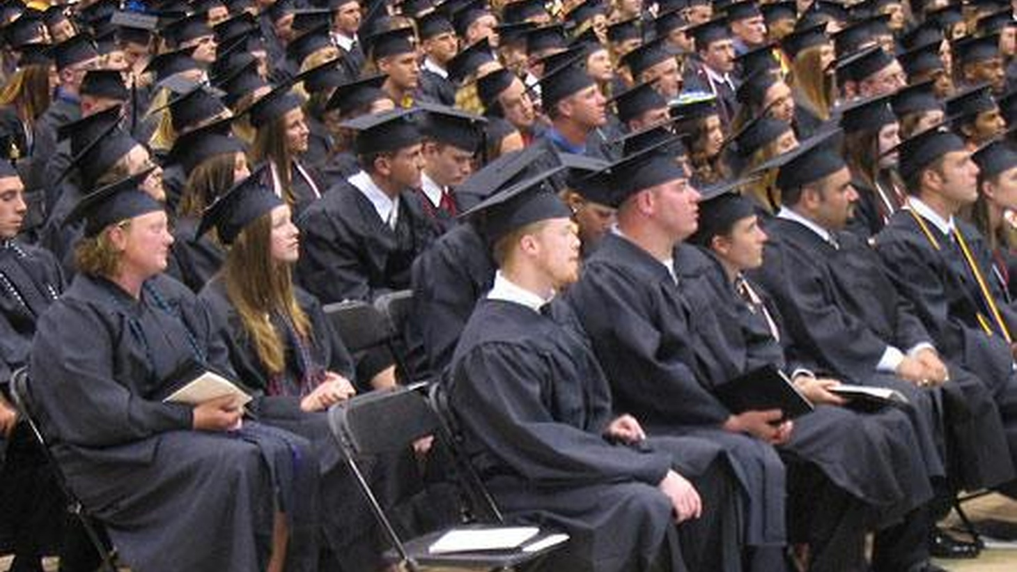 The college class of 2009 faces a market with fewer jobs at lower salaries.  Applications for volunteer national service are up by more than 200%.  We talk with college graduates and others. Also, while Chrysler files for bankruptcy, at Bank of America, a shareholder revolt.