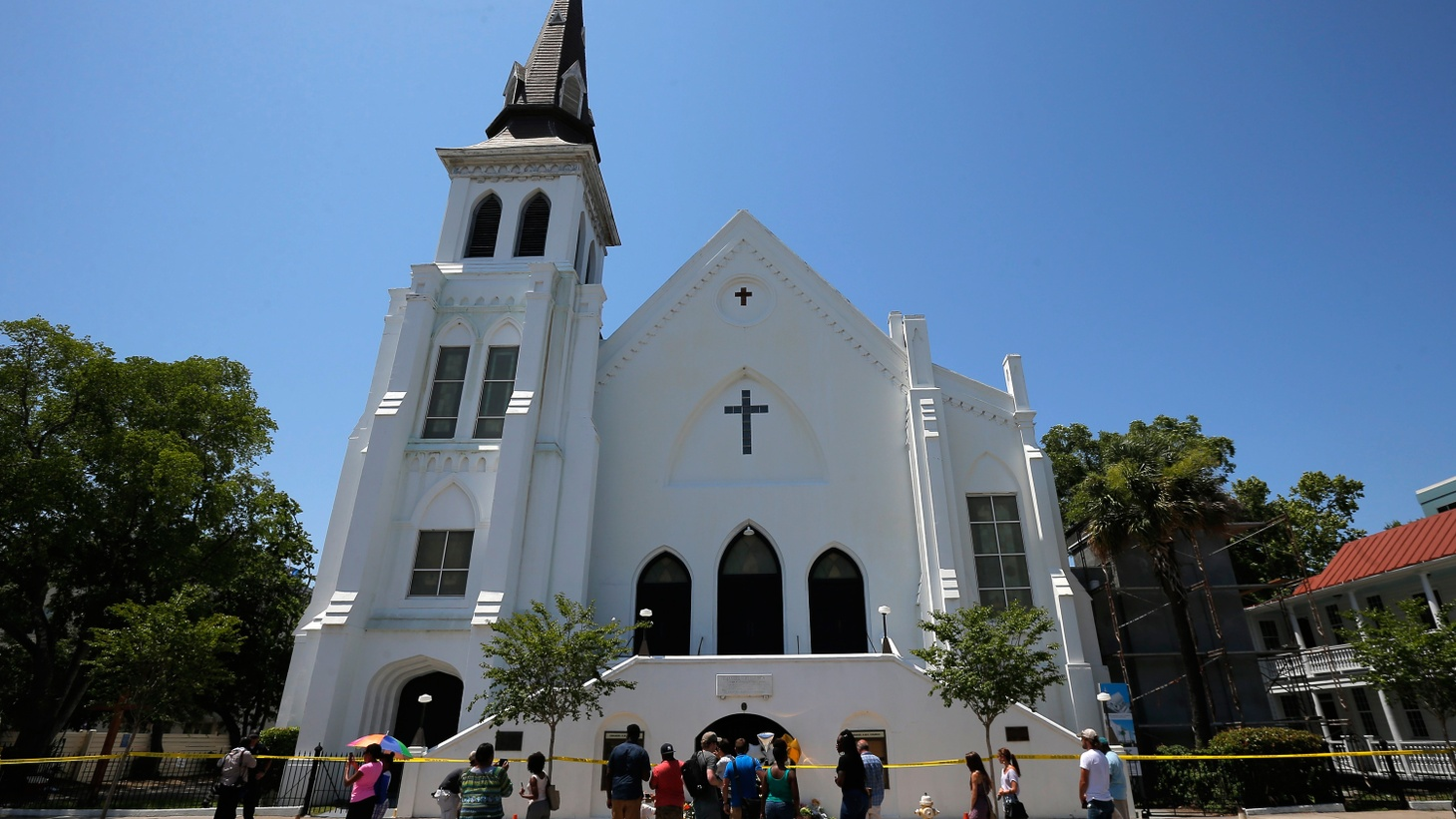 Nine people were shot to death last night during prayer at a historic black church in Charleston, South Carolina. A young, white suspect has been arrested. He's reported as saying he wanted to kill black people. We hear how the victims are being remembered and get President Obama's reaction.
