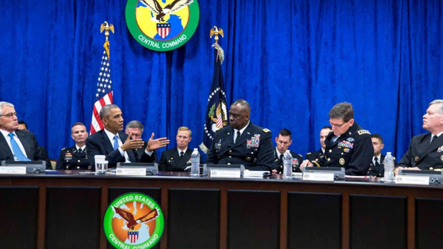 As promised, President Obama has followed airstrikes in Iraq with even bigger airstrikes in Syria. Has the War on Terror become a permanent US policy? Has the stage been set for US combat forces to go back to the Middle East?