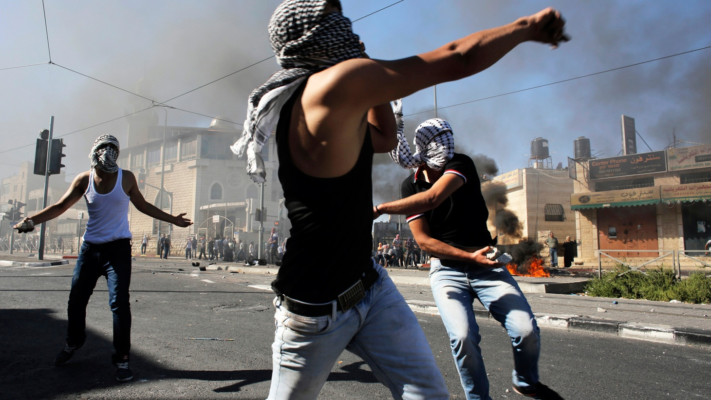 Tensions reached a new high today in the conflict between Israelis and Palestinians. Does the abandonment of a peace process mean more violence ahead? Can the US do anything to relieve the tensions?