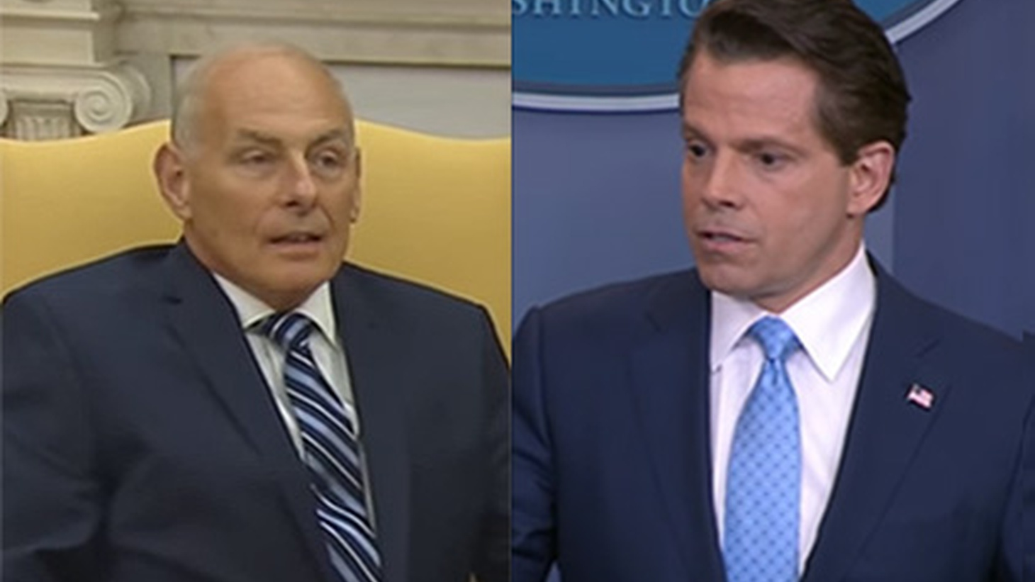 Last week, former Marine General John Kelly was Secretary of Homeland Security. But Friday, he was named White House Chief-of-Staff. Today, he was sworn in to replace Reince Priebus, and President Trump expressed high expectations.