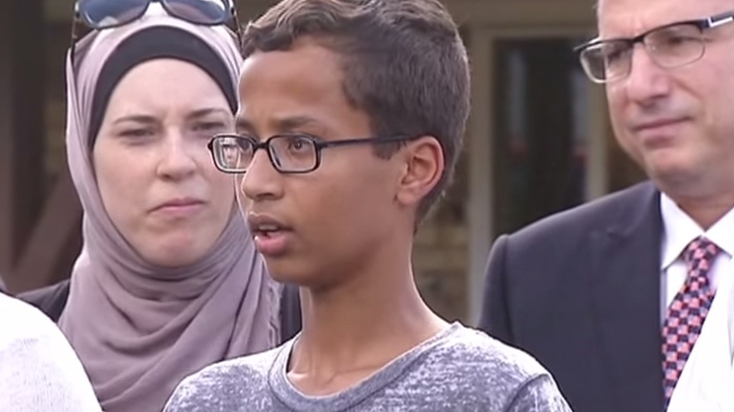 This week's arrest of a 14-year-old Muslim student whose home-made clock was mistaken for some kind of bomb raised the issue of Islamaphobia in America. Now it's become an issue in the presidential campaign.