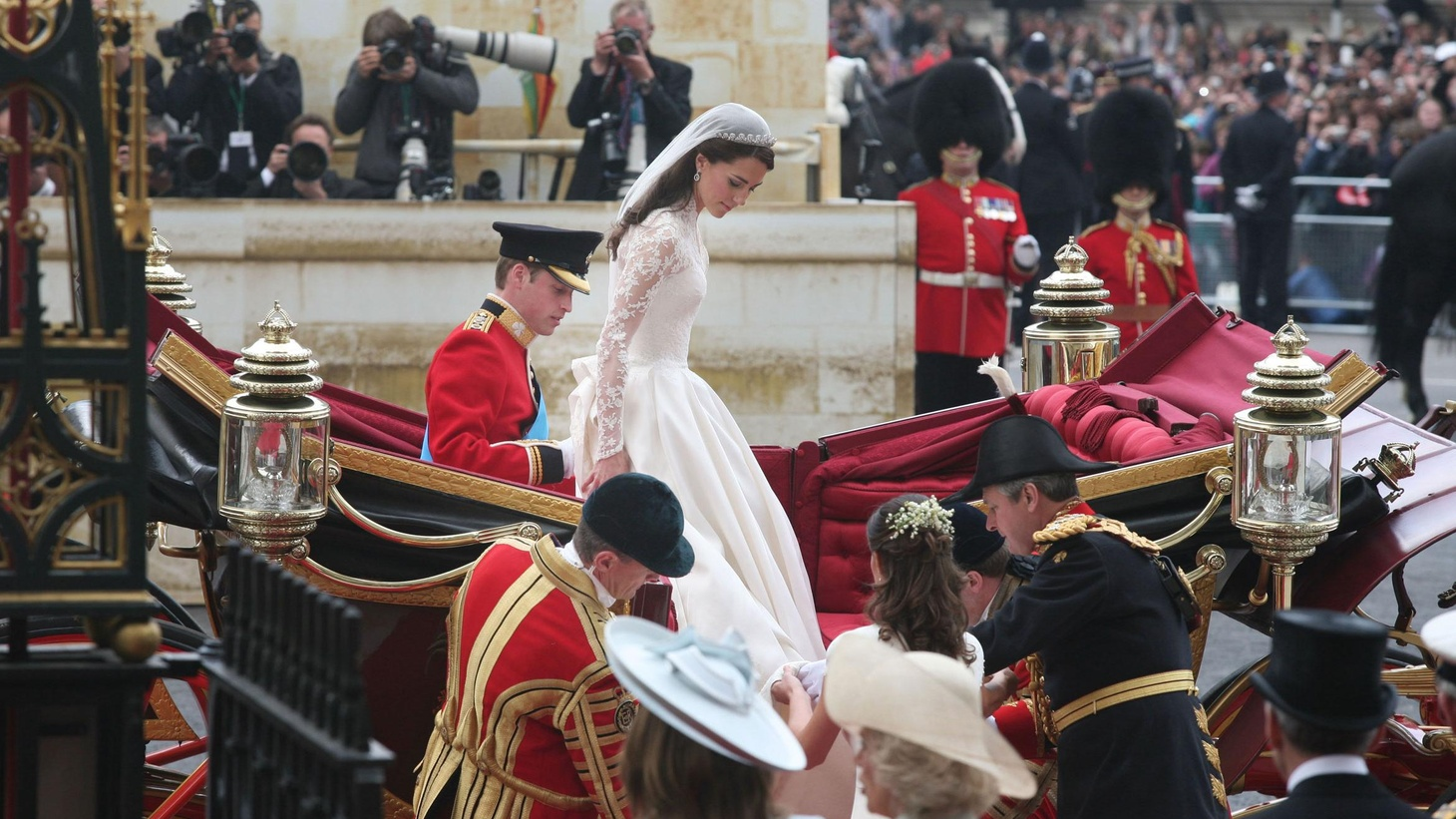 With all the trappings of history, will today's royal wedding raise the spirits of a modern nation in the throes of austerity? What's the attraction of a marriage between two people whose power is more symbolic than real?