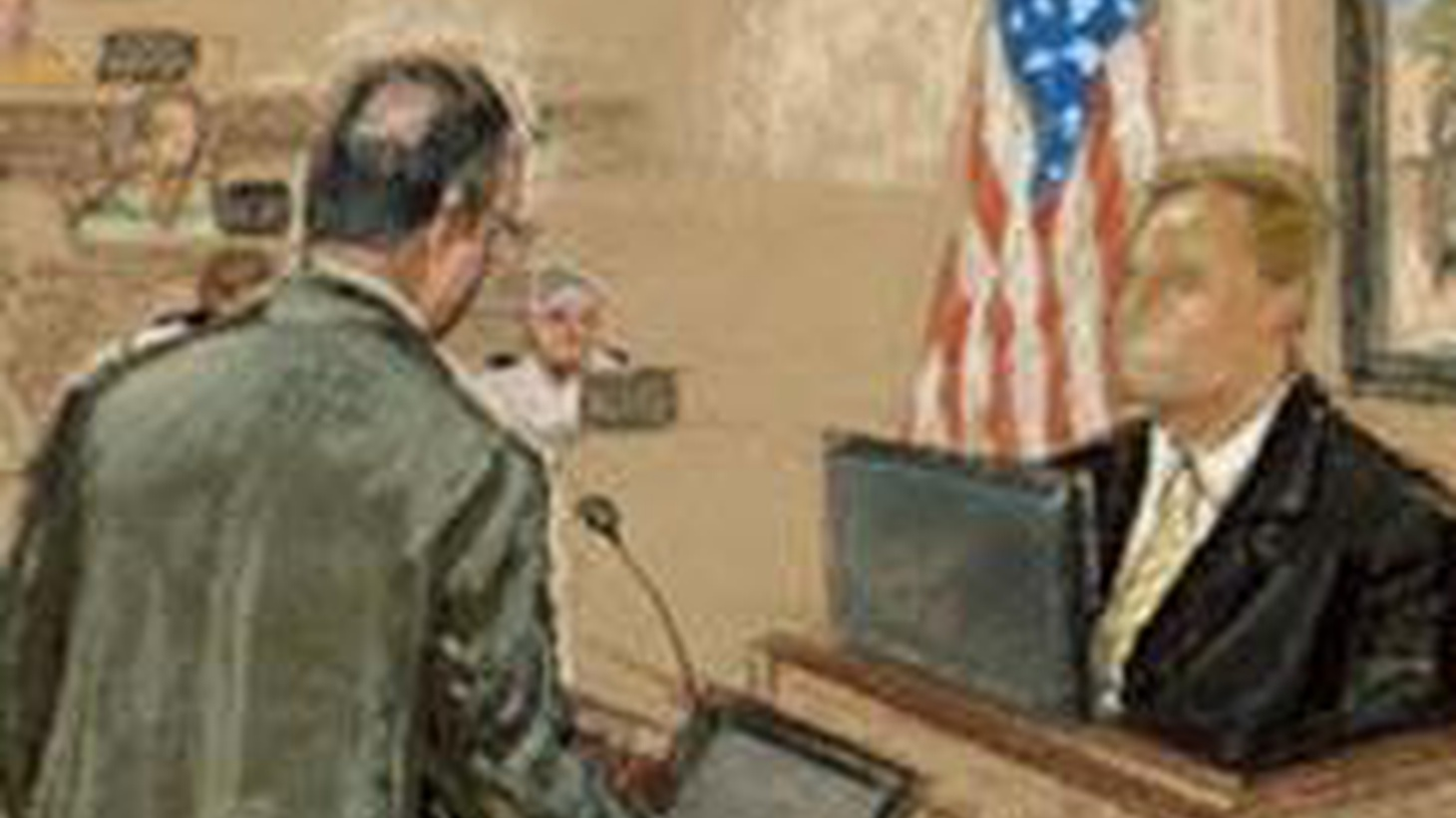 """In a test case for military tribunals, Osama bin Laden's former driver was convicted today on one charge but acquitted on another. The White House calls it a """"fair trial,"""" but appeals are likely. Also, FBI prepares to unveil its case against Bruce Ivins, and presidential politics and popular culture."""