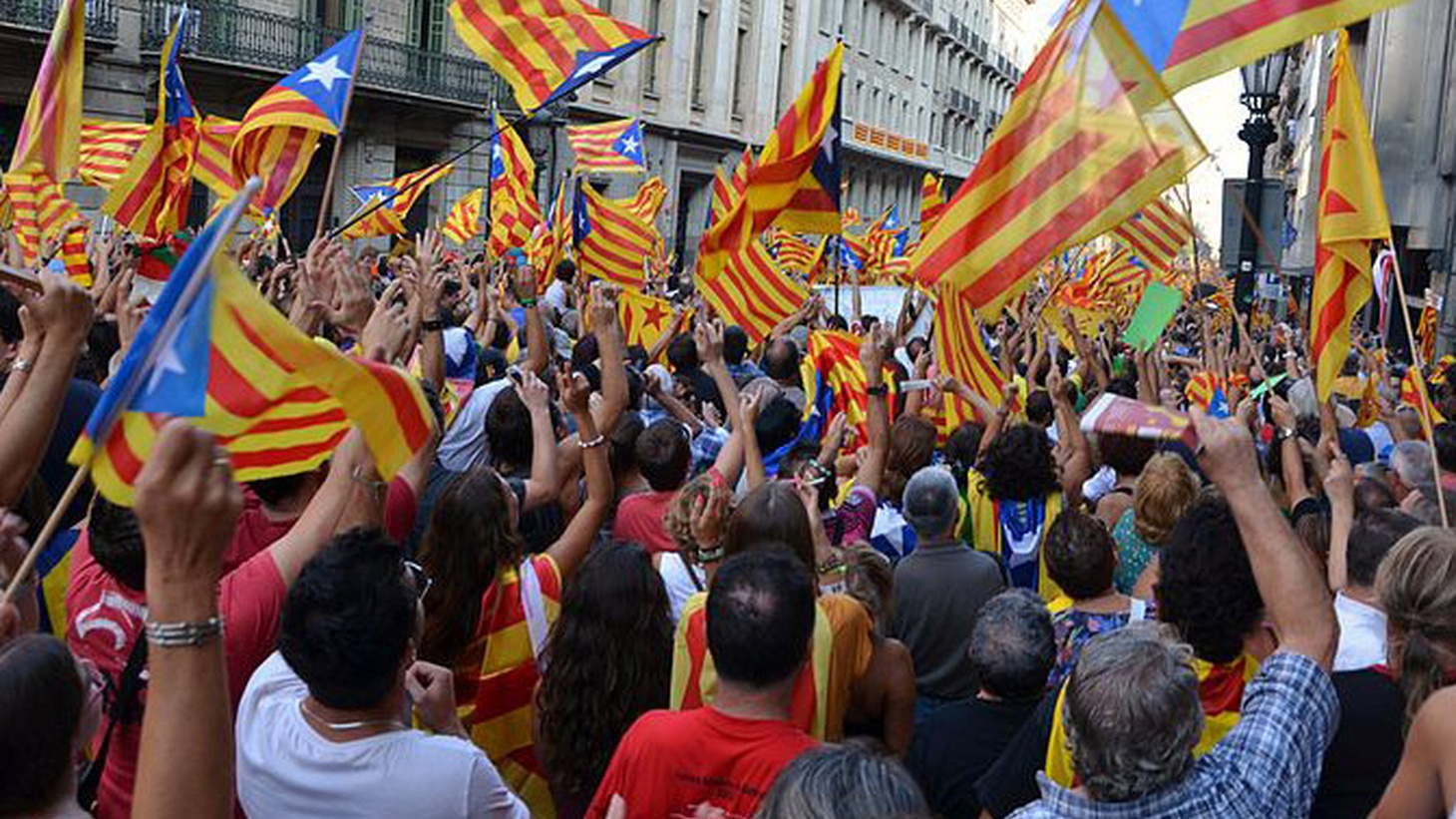 Photo by  Josep Renalias    Spanish Prime Minister Mariano Rahoy today took the first tentative step toward imposing administrative control over the would-be breakaway region of Catalonia. He asked Catalan President Carles Puigdemont to clarify whether he'd actually meant to declare independence in a speech yesterday. If he did, the Spanish…