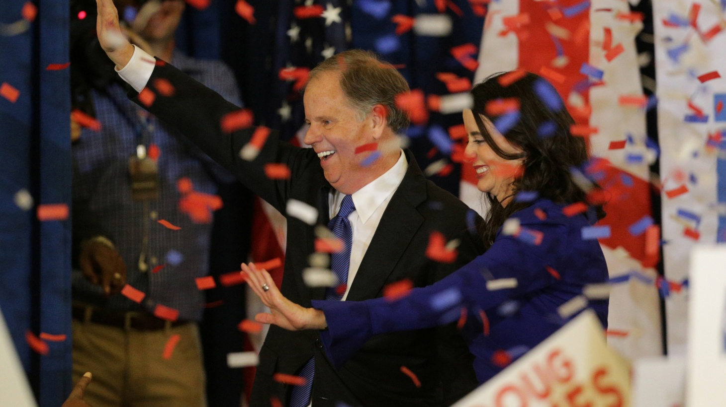 President Trump and some Republicans were licking their wounds after Democrat Doug Jones' stunning upset in Alabama's race for the US Senate. But others were positively relieved. Conservatives openly disagree about how much character counts.
