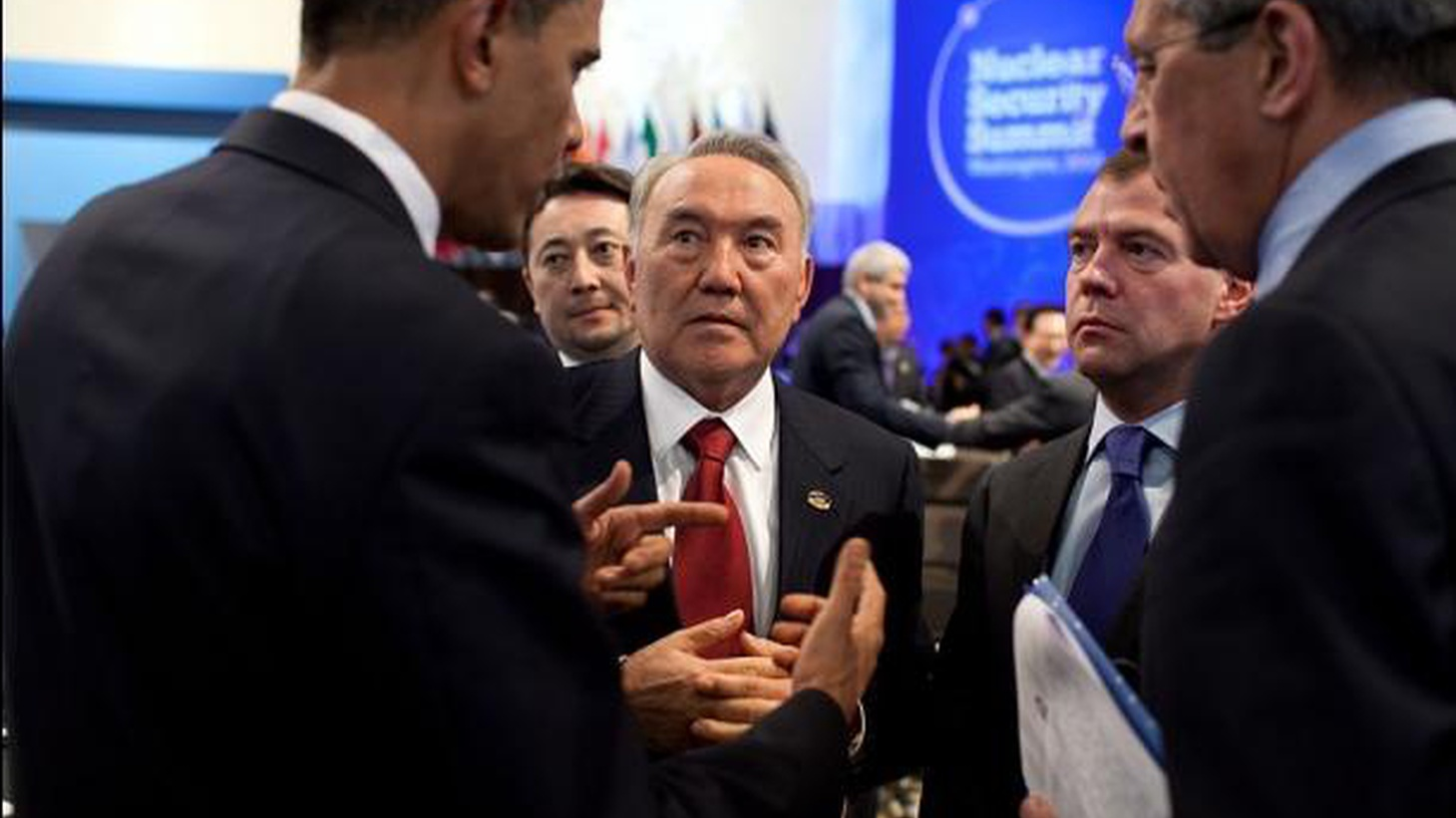 """Russia's Medvedev calls Obama's nuclear summit a """"complete success,"""" but adds, """"I hope we won't just go home feeling happy."""" What will it take to sustain agreements to """"lock down"""" nuclear materials? Is the threat of nuclear terrorism overblown? Also, a major earthquake strikes the Dalai Lama's hometown, and climate change and a tax on gasoline."""