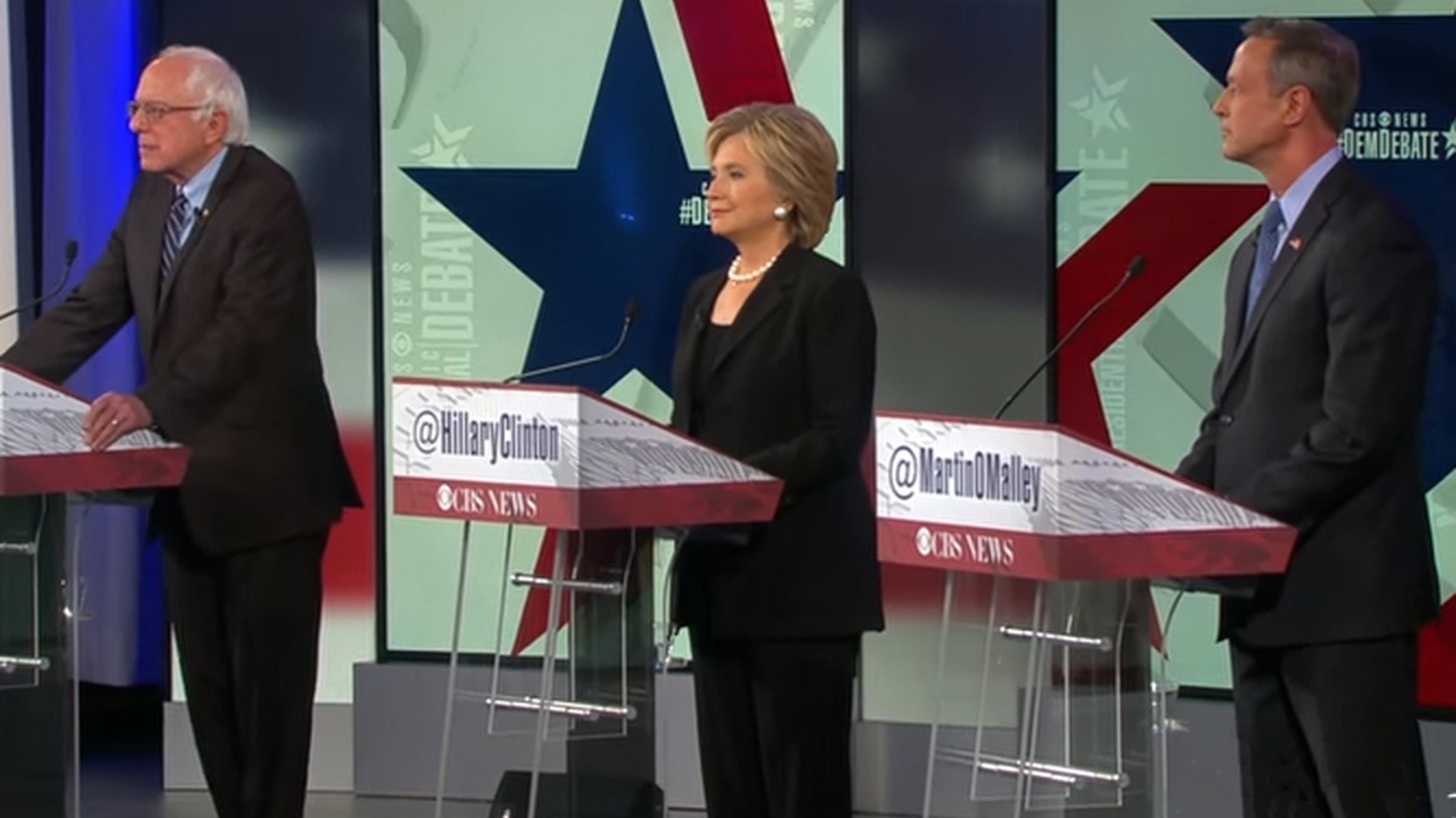Candidates for the Democratic presidential nomination will be on stage in New Hampshire tomorrow night, just as a new dispute is breaking out in the party.