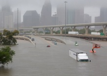 America's fourth-largest city is under water