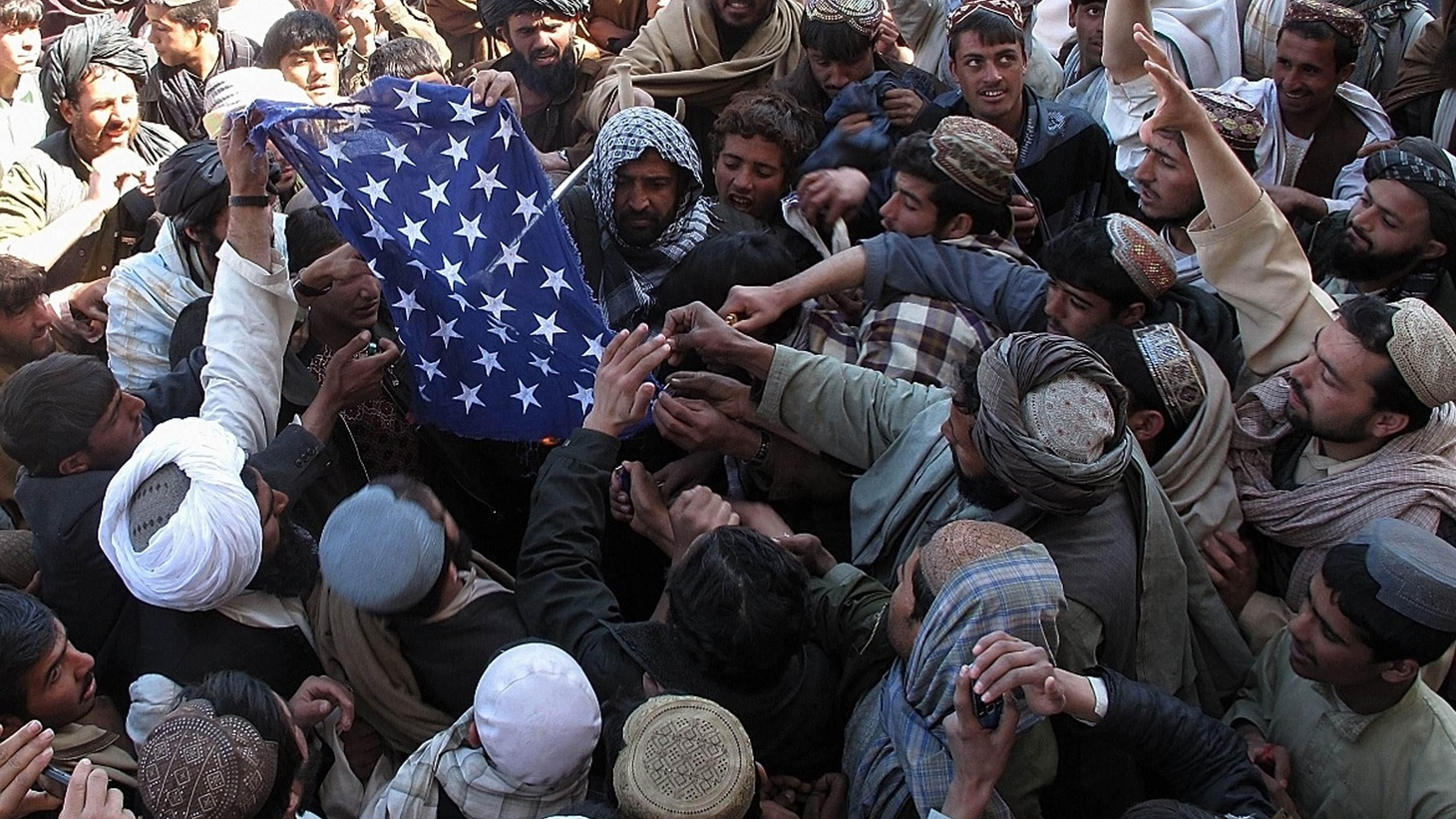 """The """"partnership"""" that's key to western strategy in Afghanistan has been shattered by Koran burnings and assassination of two Americans in a supposedly secure location."""