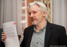The conservative embrace of Julian Assange