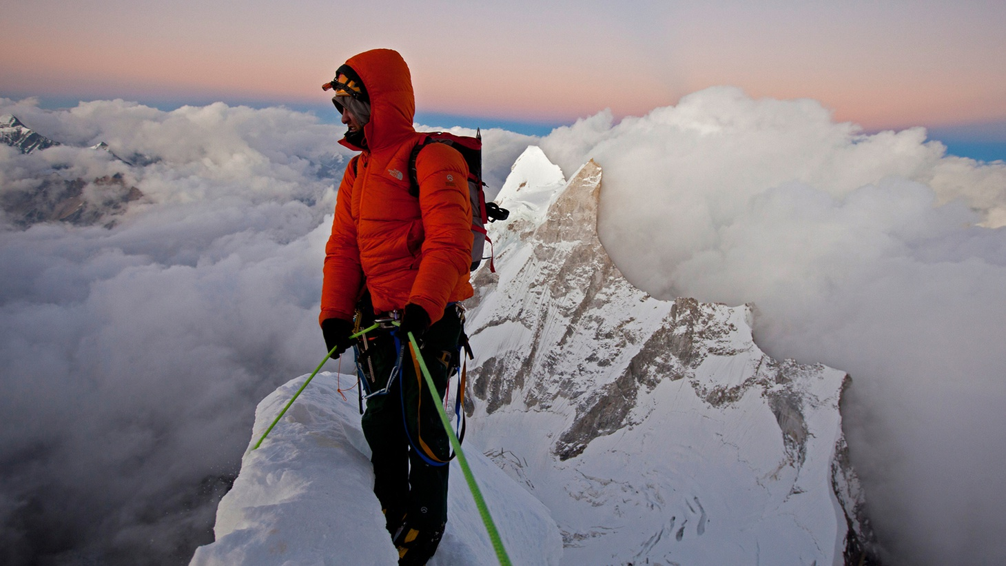 If at once you don't succeed summiting a mountain and it nearly kills you, should you try, try, try again? In 2008, three mountain climbers set out to be the first team to scale Meru, a 21,000 foot mountain in the Himalayas. Along with 200 pounds of gear, Conrad Anker, Renan Ozturk and Jimmy Chin brought cameras to document the climb.