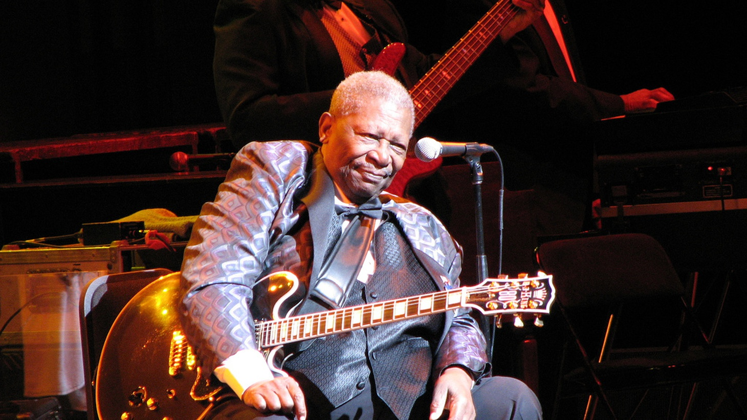 """B.B. King  picked cotton on the plantation where he was born, but rose to become a world-travelling ambassador for the blues. He died yesterday in Las Vegas at the age of 89. """"Lucille"""" was B.B. King's song about one of his first guitars, and it's the name he gave all the others he played during his extraordinary career."""