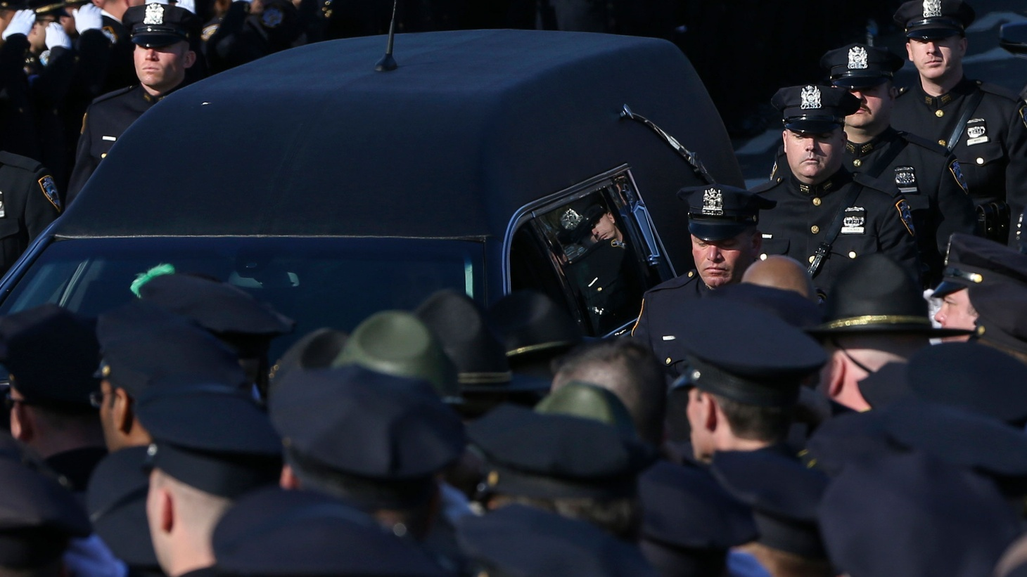 After months of protest over high profile deaths of African Americans at the hands of police, law enforcement is pushing back with pro-police rallies across the country and a social media campaign -- BlueLivesMatter. We look at the blue backlash and where it will lead the national debate over policing and race.