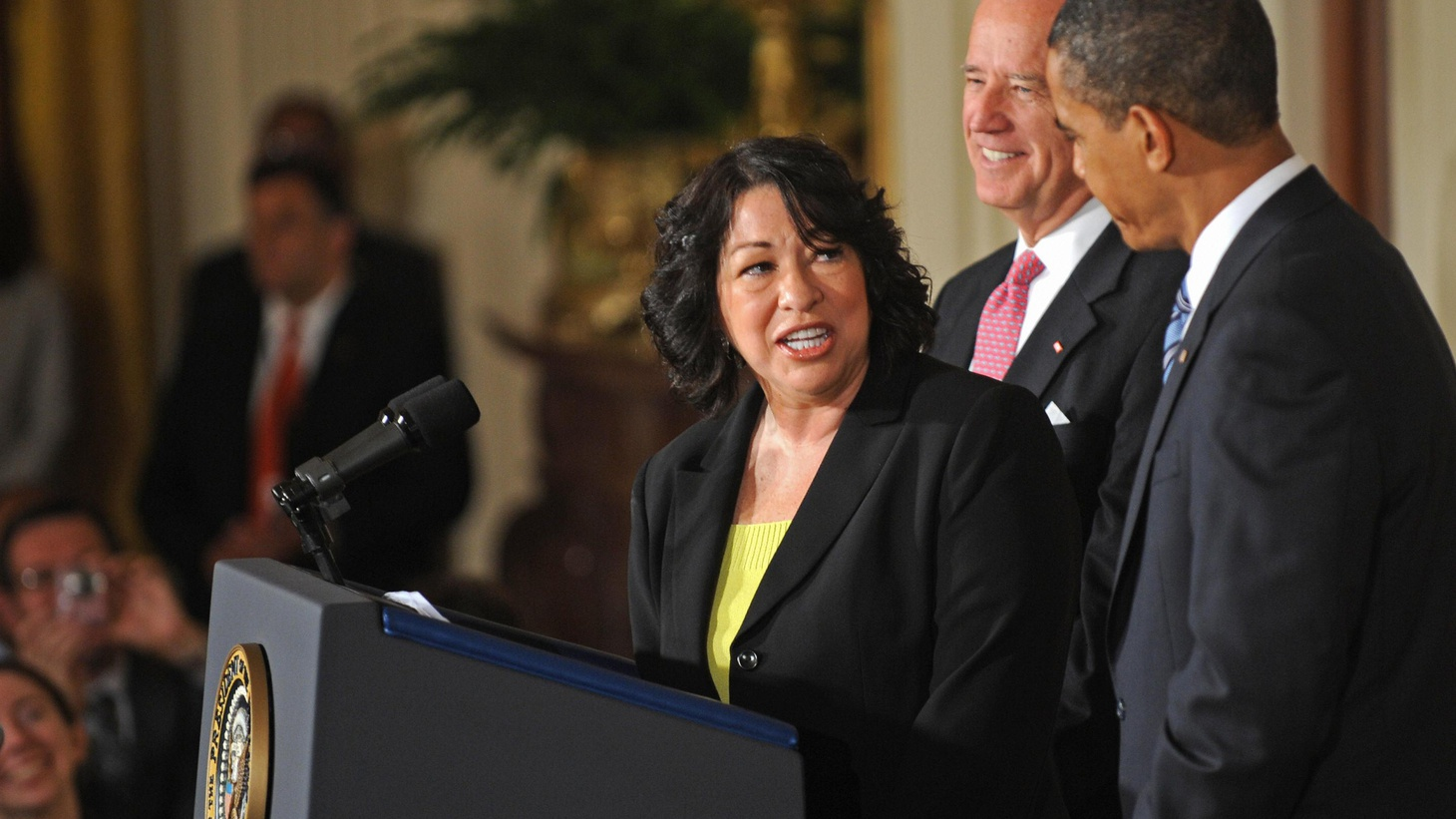"""President Obama has nominated Sonia Sotomayor to the US Supreme Court, a Hispanic woman with 17 years of experience on the federal bench. Supporters emphasize her legal credentials and her common touch. Opponents call her """"an activist judge."""" We hear both sides. Also, North Korea followed up on yesterday's nuclear test with more saber-rattling today, and the California State Supreme Court has upheld Proposition 8, the voters' ban on gay marriage."""