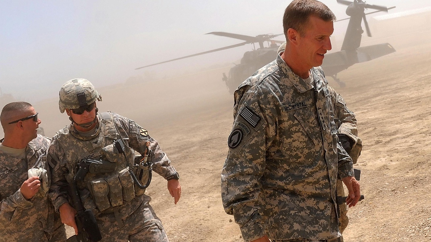 """In deciding what to do in Afghanistan, President Obama faces more than the question of how many troops. It's the clout of the military in a society where the civilian government is supposed to be in charge. After all, it took a former general, President Dwight Eisenhower, to coin the term """"military-industrial complex."""" Also, a run-off election for Afghanistan, and the boy who wasn't in the balloon after all."""