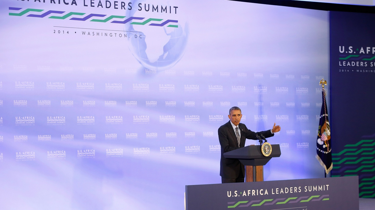 The first African-American president waited until his second term to hold his first African summit. But this week, he hosted almost 50 African heads of state and American business leaders, hoping the US can catch up in the world's last great emerging market.