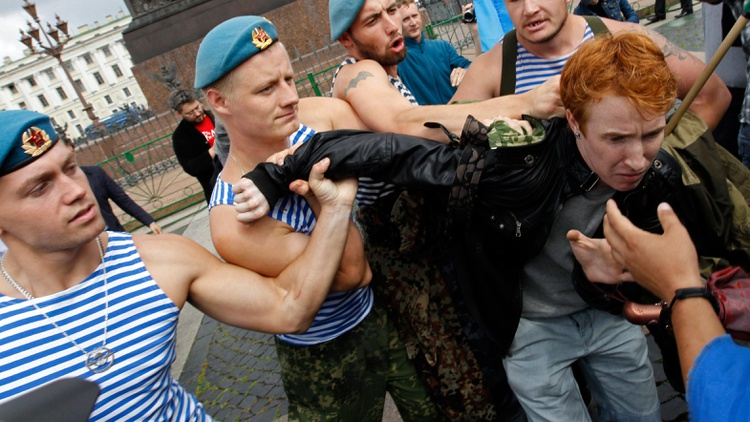Guest host Madeleine Brand looks at the frosty relations between the US and Russia. Why are gay activists clamoring for a boycott of the Russian Winter Olympics?