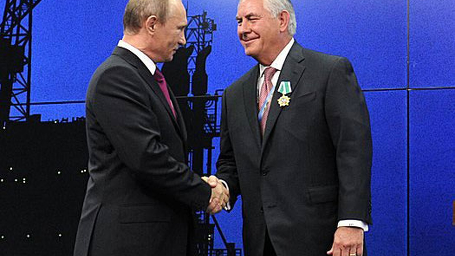 Some key Republicans are already grumbling about the Russian ties of Donald Trump's choice to be Secretary of State and his lack of diplomatic experience, raising questions about Senate confirmation. We hear more about Rex Tillerson and Trump's concept of foreign policy as deal-making.
