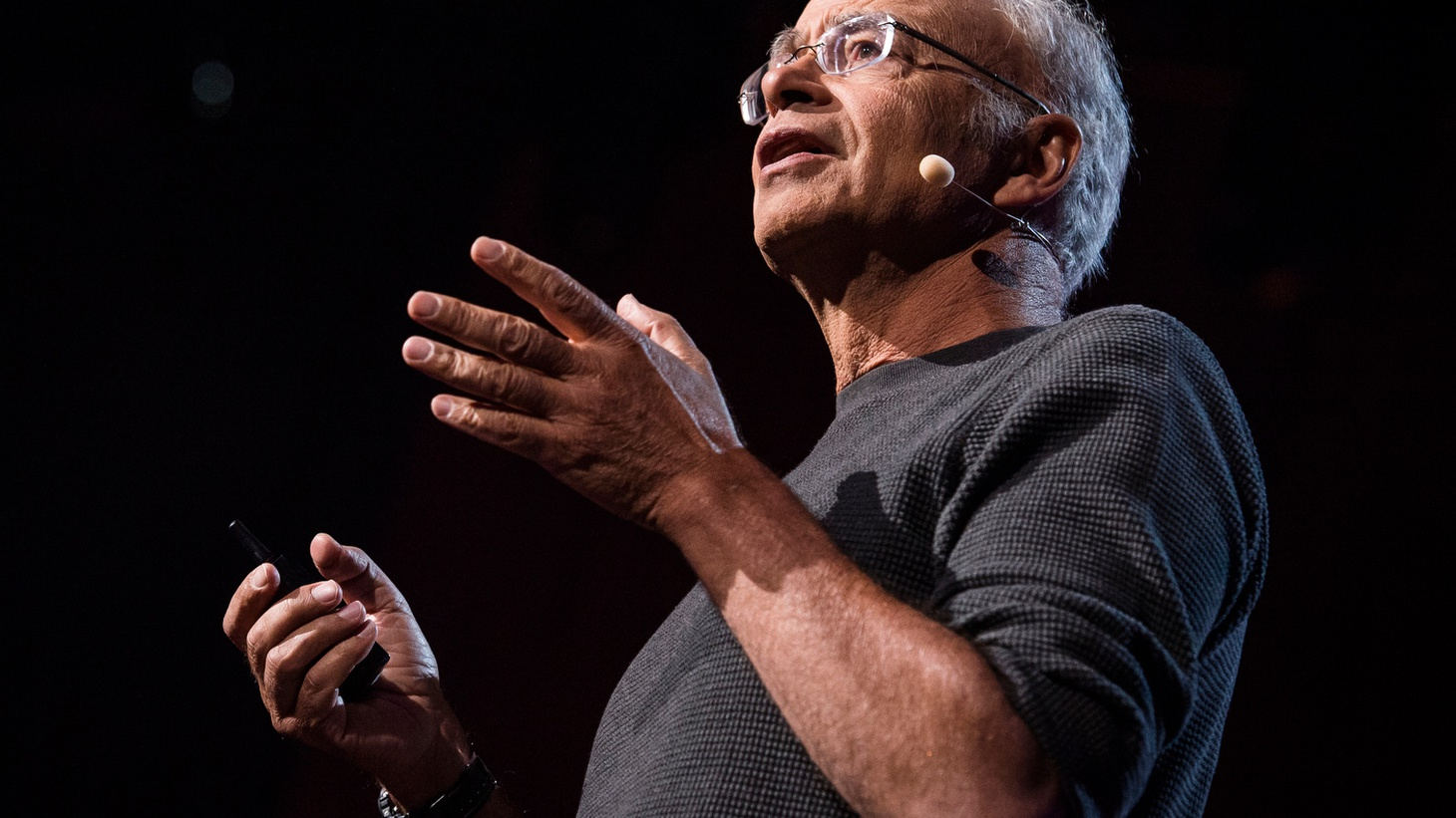 In 1975, Peter Singer made a global impact with his book,  Animal Liberation . He's now focused on charity — and how everyone has the obligation not just to give away whatever they can afford, but to get the biggest bang for their buck.