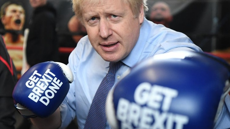Conservative leader Boris Johnson won big in the Brexit election. Labor's Jeremy Corbyn lost disastrously.