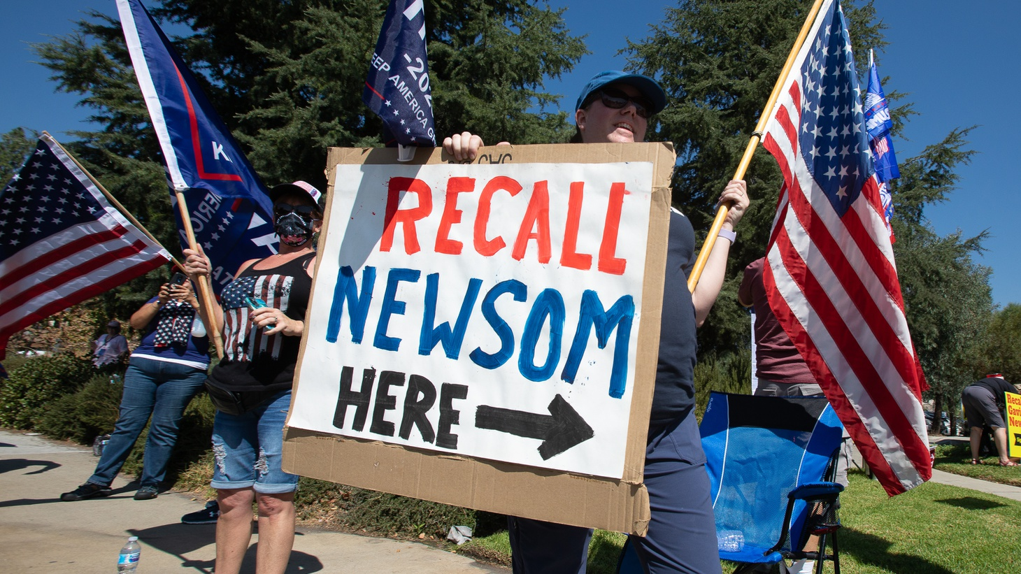 September 14 is the last day for Californians to vote in the gubernatorial recall election. Recall supporters are making a final push to remove Governor Gavin Newsom from office.