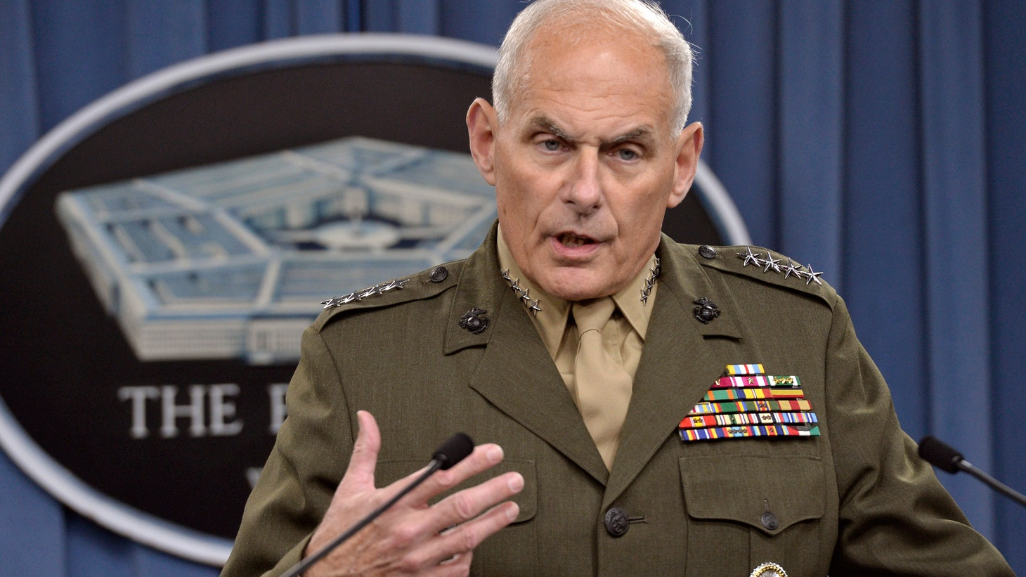 """With the President away, his White House Staff will play — unless former General John Kelly can establish rules of order in his new role as chief of a group he himself has called """"dysfunctional."""" We hear about his challenges and his record."""