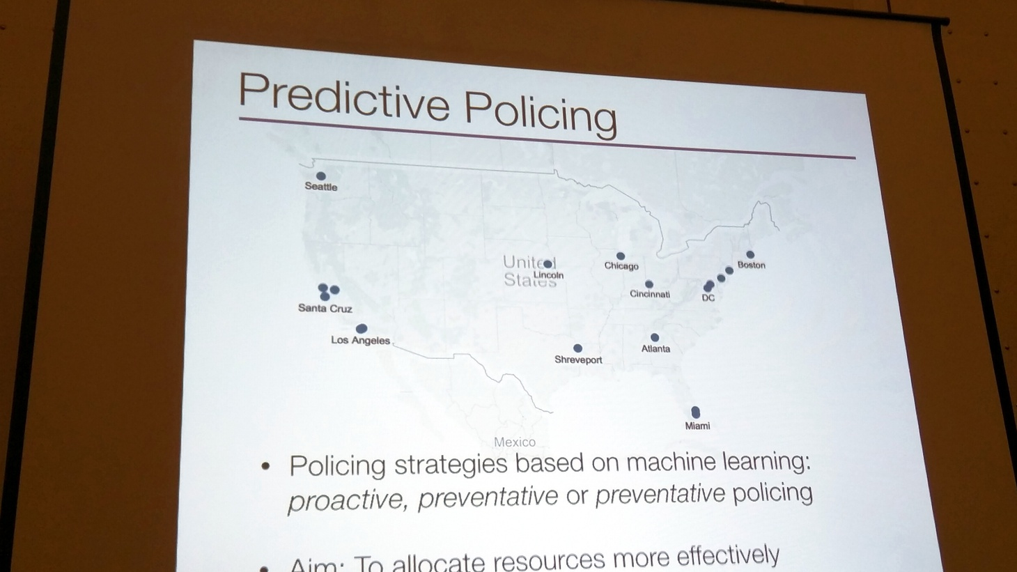 Tech companies claim that analyzing big data can predict crime and help to prevent it. That sounds like science fiction, but police agencies around the country are buying into it — with federal assistance. Critics say it's science fiction after all — with the risk of violating civil rights and eroding public confidence. Is it making law enforcement more efficient and more effective or reinforcing the biases that are leading to the erosion of public trust?