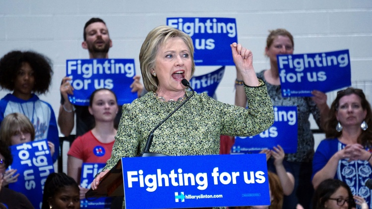 Guest host Todd Purdum explores Hillary Clinton's challenges in wooing younger voters.