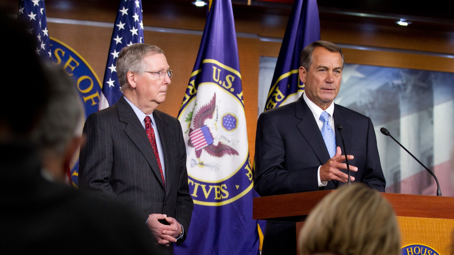 Despite promised action by Republicans when they won the Senate, gridlock continues on Capitol Hill. But it's not just partisanship as usual. Divisions within the GOP have slowed routine government business — and may delay enactment of the federal budget.
