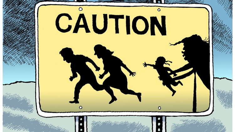 Rob Rogers of the Pittsburgh Post-Gazette is the latest editorial cartoonist to lose his job. Fired for harsh portrayals of President Trump.