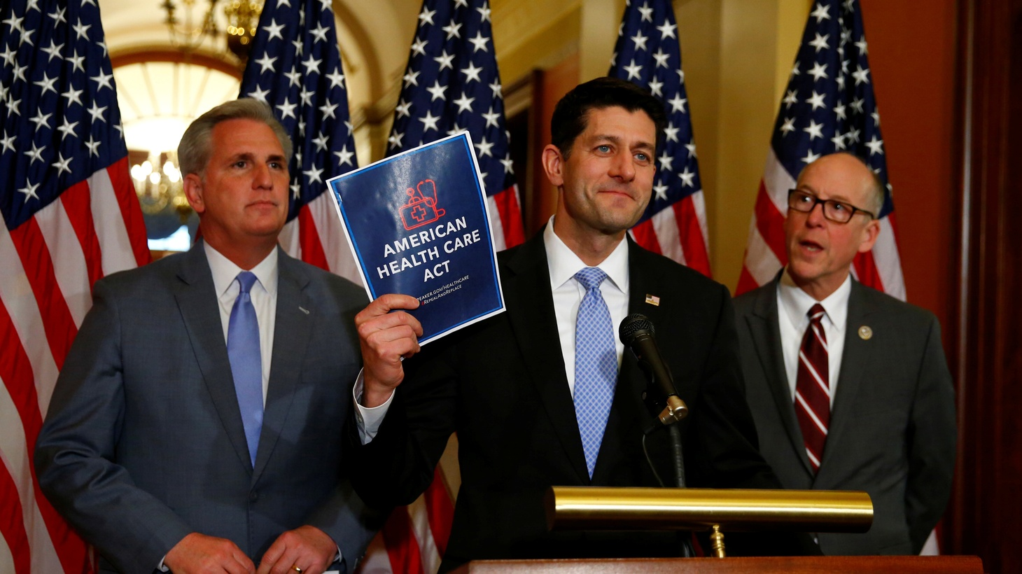 """Republicans are divided and Democrats are saying, """"we told you so,"""" when it comes to official estimates of what it will cost to repeal and replace Obamacare. The Trump White House says the Congressional Budget Office is just wrong."""