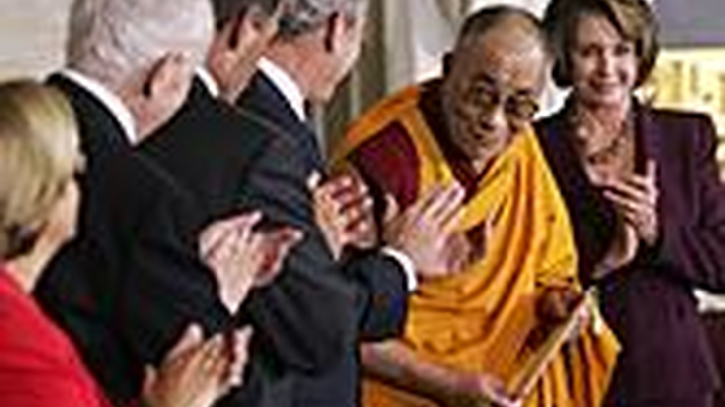 George Bush today publicly recognized the Dalai Lama despite China's official outrage. During 50 years of repression, the religious leader has preached non-violence to the Tibetan people. Also, Turkey approves military action against separatist Kurds in Iraq, and Senators get reassuring words from the President's nominee to replace Alberto Gonzales.