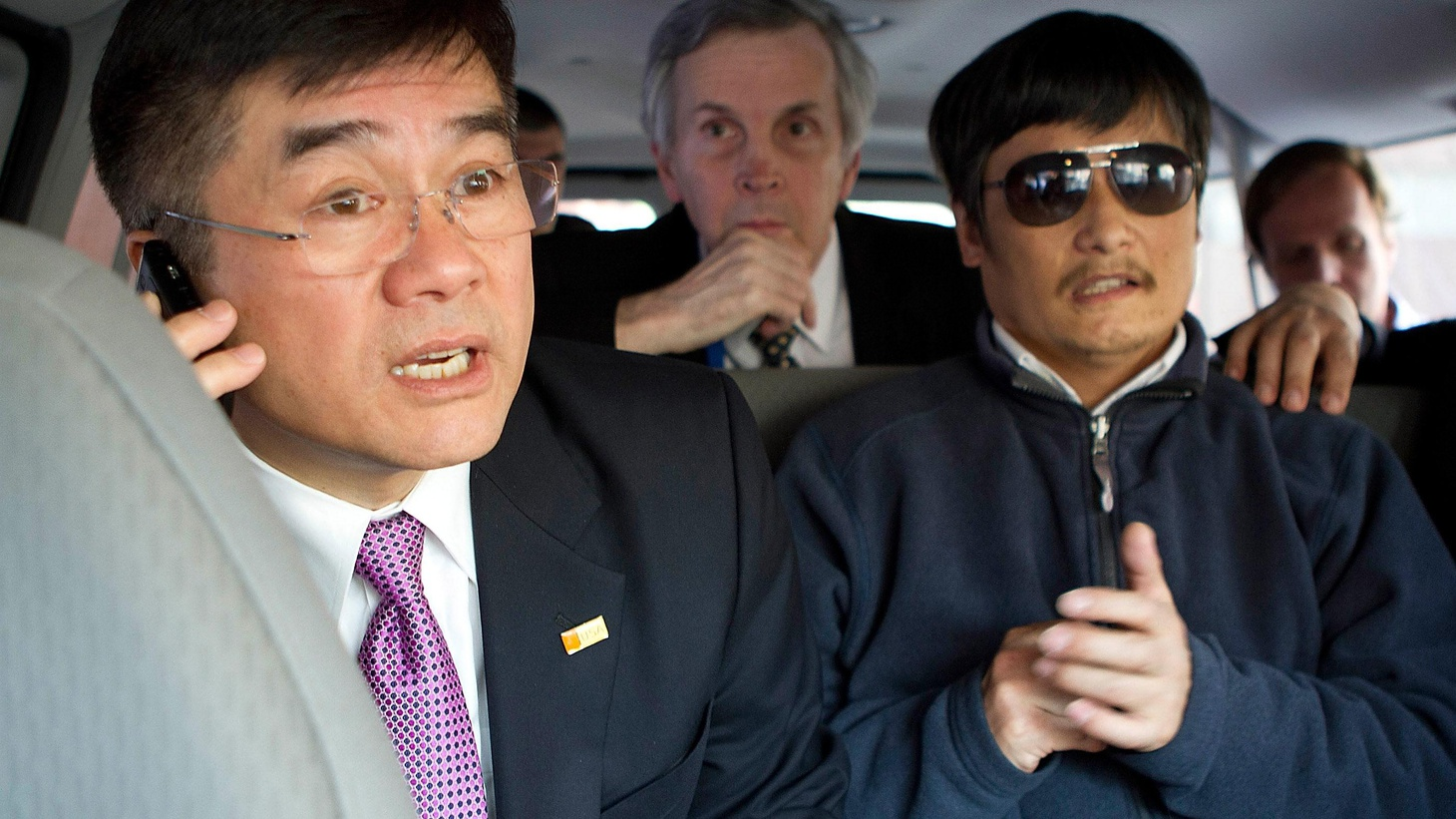 Chen Guangcheng has been offered a fellowship in the US. How are the Chinese government and Obama Administration managing an historically awkward moment?