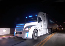 The First Self-Driving Semi-Truck Revs Up