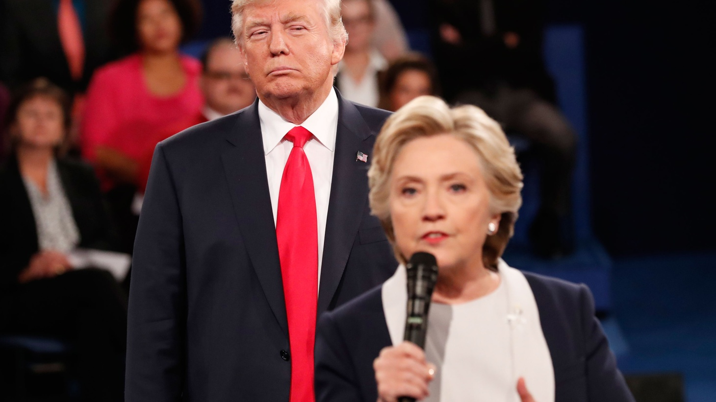 America's founding fathers accused each other of crimes, hypocrisy and sexual misbehavior, but times had changed — until last night at this year's second presidential debate in St. Louis.